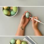 Ideas divertidas y coloridas: pintar huevos para las Pascuas
