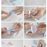 Paso a paso para confeccionar pompones de papel para decorar regalos