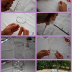 Paso a paso para reciclar frascos de vidrio y utilizarlos para decorar