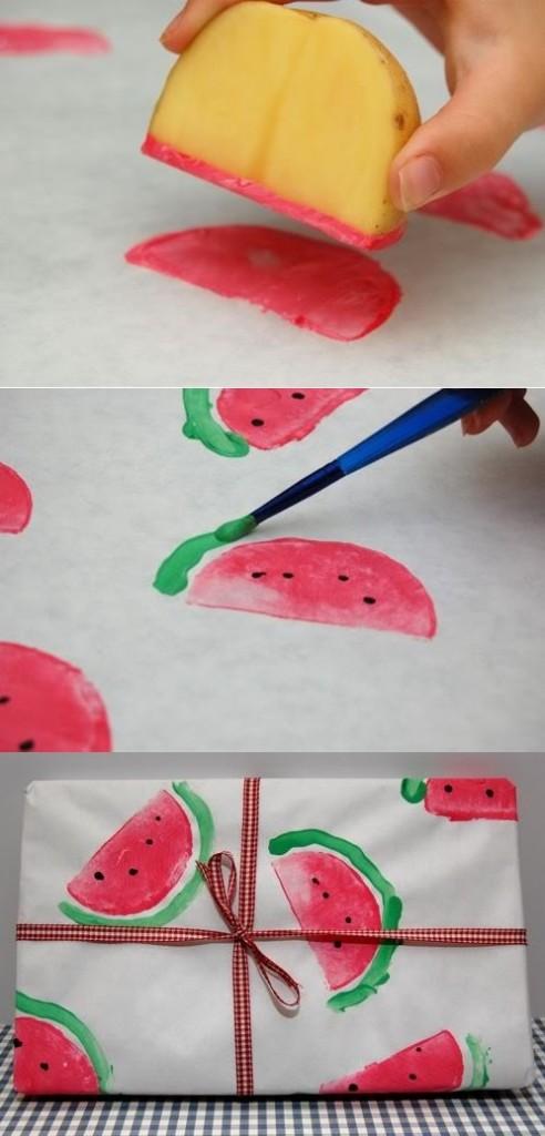 tutorial-DIY-papel-decorado-con-sandias