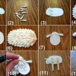 Artesanías para el cuarto del bebe: ¡Paso a paso para realizar una oveja decorativa!