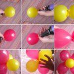 ¿Cómo hacer una flor con globos para decorar fiestas?