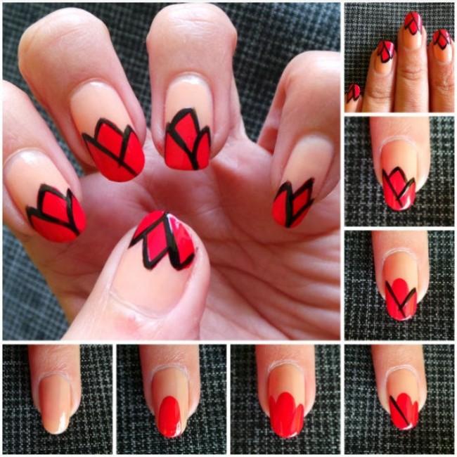 Diseño floral en tus uñas para disfrutar al máximo de la primavera ...