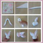 Paso a paso para hacer un simpático conejo con una toalla