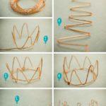 Para las reinas de la casa: Corona de jueguete realizada con alambre