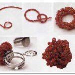 ¿Cómo hacer un anillo con mostacillas para una fiesta?