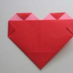 ¡Con mucho amor! Corazón de origami paso a paso