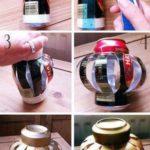 ¡A reciclar latas! Portavelas originales y ecológicos