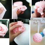 ¿Cómo hacer bolas de rosa para decorar nuestro hogar?