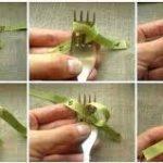 Técnicas divertidas y fáciles: Paso a paso para hacer moño con un tenedor