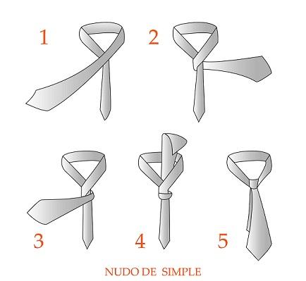 como hacer el nudo de la corbata paso a paso