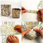 Lapiceros para la oficina realizados con material reciclable