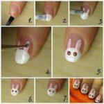 Llegan las Pascuas….a lucir uñas con diseño de conejos muy originales