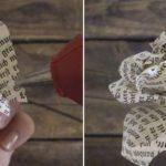¡Rusticas y delicadas Rosas realizadas con diarios! ¿Cómo hacerlas?