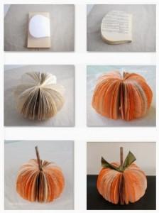 Calabaza de Halloween con Libros o Revistas, Manualidades Faciles Paso a Paso2