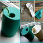 ¿Cómo hacer floreros originales y económicos con vaso y globos?