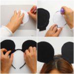 ¿Cómo hacer Orejas de Mickey para souvenirs de cumpleaños?