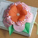 ¡Ponele primavera tu día! Simples pasos para hacer hermosas flores de tela decorativas