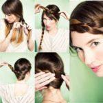 La última tendencia en Peinados:  trenza diadema en simples pasos
