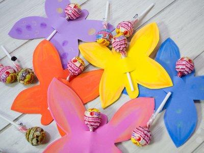 Cómo hacer mariposas de goma eva? ideales como souvenirs de ...