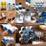 ¿Queres tener un botellero en tu departamento? Paso a paso para crearlo con latas recicladas