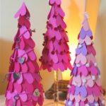 Coloridos arboles con corazones para decorar y darle color a nuestro hogar