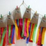 Guirnalda muy colorida para decorar fiestas infantiles
