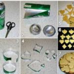 Paso a paso para hacer moldes de galletitas con latas de gaseosas que te saquen de apuros
