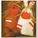 ¿Cómo hacer conejos en goma eva para regalar en Pascuas?