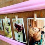 ¿Cómo hacer un divino marco muy original para colgar fotos?