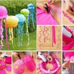 Cómo hacer guirnaldas de colores realizadas con pantallas de papel