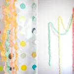 Cómo realizar guirnaldas de papel crepé para decorar eventos o el hogar