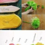 Cómo hacer paso a paso coloridas flores para la primavera
