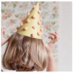 Gorros – Bonetes para cumpleaños con pompones de papel de seda ¿Cómo hacerlos?