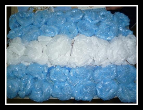 C mo hacer banderas argentinas con diferentes materiales for Puertas de material reciclado